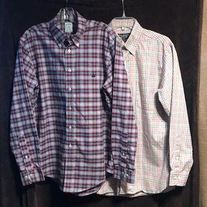 Brooks brothers bundle 2 for 1 size medium shirts